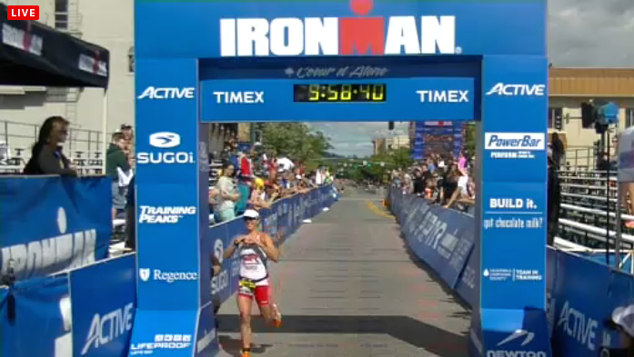 Jess Smith, you are an Ironman!